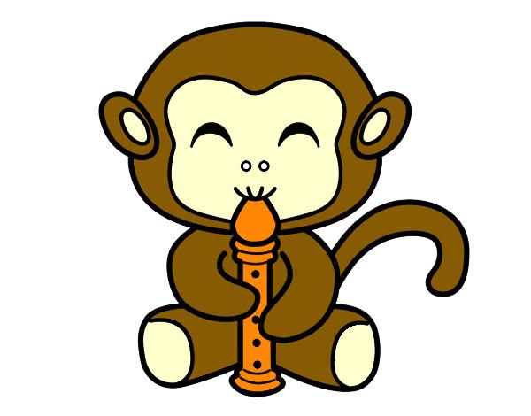 Desenhos De Macacos Para Colorir