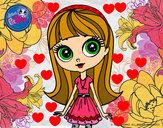 Desenho Blyte pintado por Jhuliia