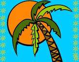 Desenho Verão pintado por Clark
