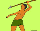 Desenho Caçador africano pintado por daniel12