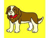 Desenho Cão pigmento pintado por Barbaraeli
