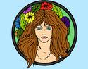 Desenho Princesa do bosque 2 pintado por lukikoler