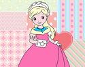 Desenho Princesa elegante pintado por karina1012