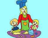 Cozinheiro mamã