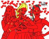 Violetta, Francesca e Camila