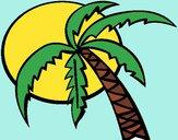 Desenho Verão pintado por cyntia