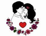 Desenho Amor perfeito 2 pintado por fer3307