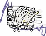 Autocarro de coelhos