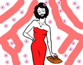 Desenho A mulher barbada pintado por paloma-03