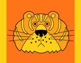 Desenho Tigre III pintado por marilurdes