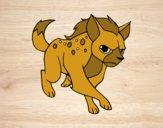 Uma hiena