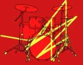 Bateria de percussão