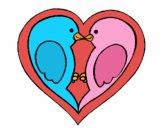 Passaritos apaixonados
