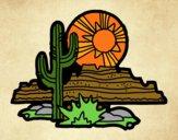 Desenho Deserto do Colorado pintado por jehtheo