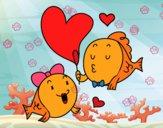 Peixe enamorado