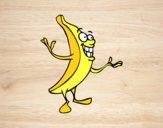 Desenho Senhor banana pintado por ImShampoo
