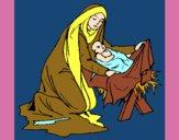 Nascimento do menino Jesús