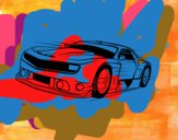 Desenho Carro desportivo veloz pintado por NETO12