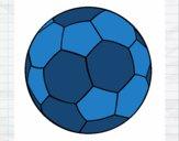 Desenho Bola de futebol II pintado por dinho