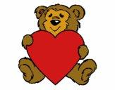 Urso apaixonado
