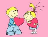 Crianças em São Valentim