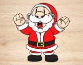 Papai Noel risonho