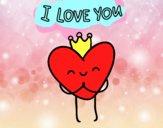 Coração I love You