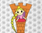 Rapunzel na torre