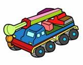 Caminhão guindaste