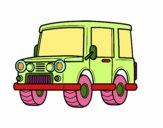 Jeep fora de estrada