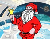 Papai Noel com sino