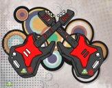 Desenho Guitarra eléctrica pintado por matheusstr