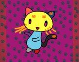Desenho O Gato   pintado por KITY