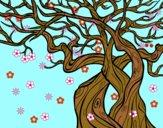 Desenho Árvore fantasmal pintado por Rayden