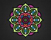 Mandala olhos