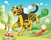 O tigre-de-bengala