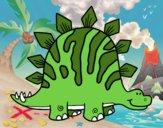 Tuojiangossauro bebé