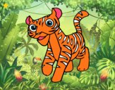 Um tigre