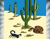 Desenho Deserto  pintado por LLL321