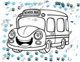 Autocarro escolar infantil