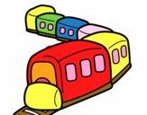 Trem a caminho