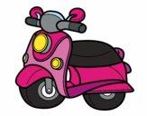 Motocicleta Vespa
