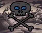 Caveira pirata