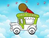 Food truck de sorvete