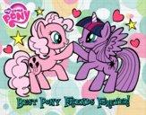 Desenho  Pony Melhores amigos para sempre pintado por IsaBellaBe