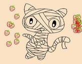 O gato momia
