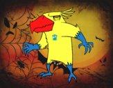 Desenho Pássaro monstro maligno pintado por eduardobar