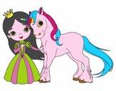 Princesa e unicórnio