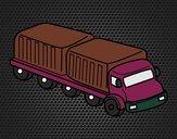 Caminhão largura