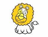 Leão simpático